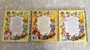 Op Shop Finds Thrift Finds Little Golden Book back cover Retro Vintage